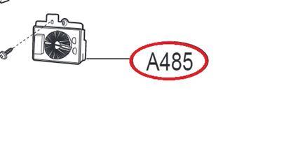 Obrázek Originální  odrušovací filtr  EAM62492317 pro pračku LG