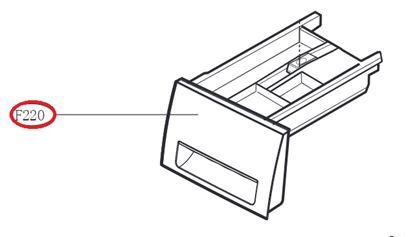 Obrázek Originální šuplík násypky AGL74433905 pro pračku LG