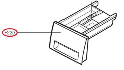 Obrázek Originální šuplík násypky AGL74333502 pro pračku LG