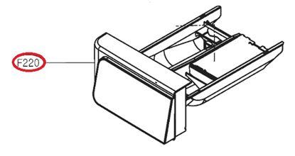 Obrázek Originální šuplík násypky AGL74333503 pro pračku LG
