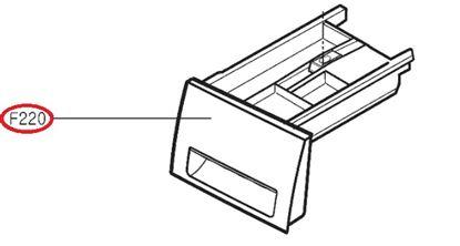 Obrázek Originální šuplík násypky AGL74275418 pro pračku LG