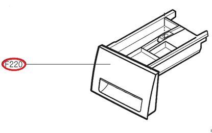 Obrázek Originální šuplík násypky AGL74258221 pro pračku LG