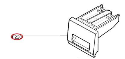 Obrázek Originální šuplík násypky AGL74153039 pro pračku LG