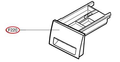 Obrázek Originální šuplík násypky AGL74033140 pro pračku LG
