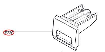 Obrázek Originální šuplík násypky AGL30013502 pro pračku LG