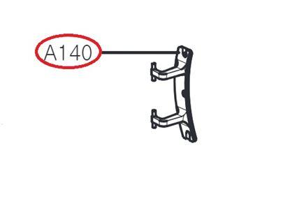 Obrázek Originální dveřní panty AGG75520601 pro pračku LG