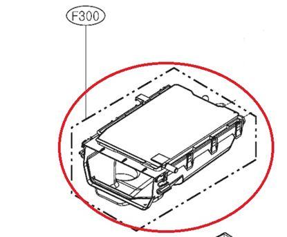 Obrázek Originální tělo násypky ACZ73230806 pro pračku LG
