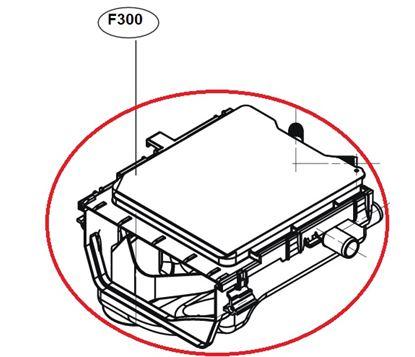 Obrázek Originální tělo násypky ACZ72970507 pro pračku LG