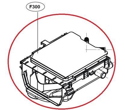 Obrázek Originální tělo násypky ACZ70035039 pro pračku LG