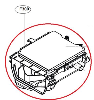 Obrázek Originální tělo násypky ACZ73450702 pro pračku LG