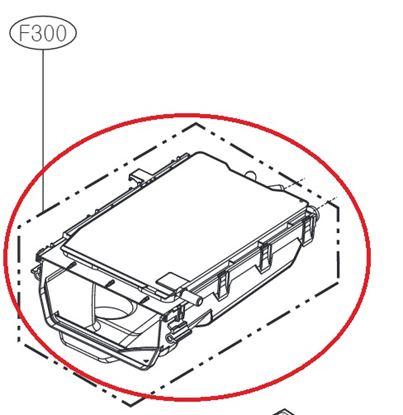 Obrázek Originální tělo násypky ACZ73230807 pro pračku LG