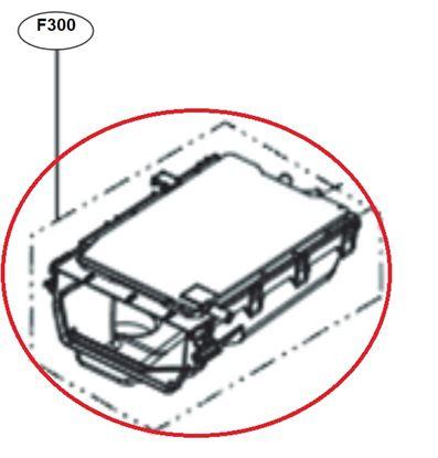 Obrázek Originální tělo násypky ACZ72970508 pro pračku LG