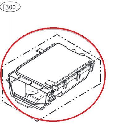 Obrázek Originální tělo násypky ACZ73230810 pro pračku LG