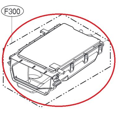Obrázek Originální tělo násypky ACZ73230808 pro pračku LG