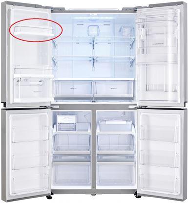 Obrázek  Originální 1 přihrádka  z vrchu v levých části dveři pro lednici  LG AAP73811801