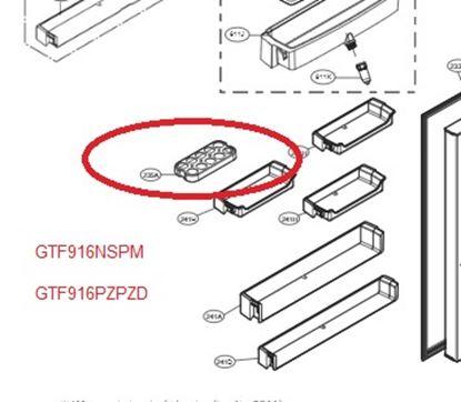 Obrázek Originální zásobník na vejce LG 3390JA1075L
