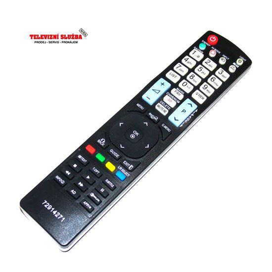 Obrázek z Dálkový ovladač AKB72914271 pro TV LG replika