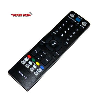 Obrázek Dálkový ovladač AKB33871401 pro TV LG replika