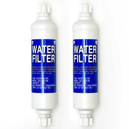 Obrázek Sada 2ks vodních filtrů do lednice LG 5231JA2012A = B originální