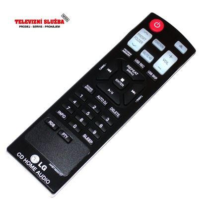 Obrázek Originální dálkový ovladač AKB73655707 audio LG