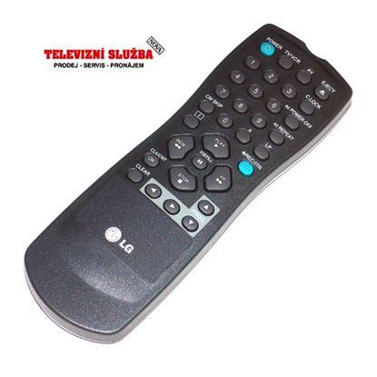 Obrázek Originální dálkový ovladač 6711R2P029C pro VCR LG