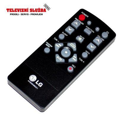 Obrázek Originální dálkový ovladač AKB36086221 audio LG