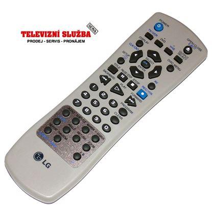 Obrázek Originální dálkový ovladač 6711R1P042A pro VCR LG