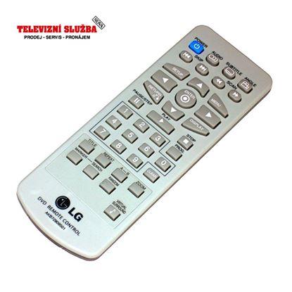 Obrázek Originální dálkový ovladač AKB72909501 pro DVD LG