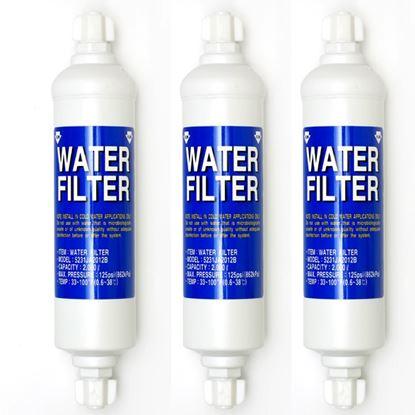Obrázek Sada 3ks vodních filtrů do lednice LG 5231JA2012B = A Originální