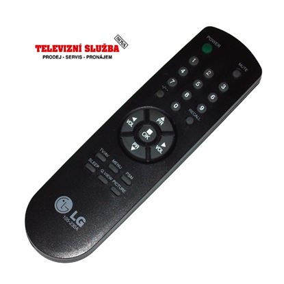 Obrázek Dálkový ovladač TV - LG 105-230A  VÝPRODEJ