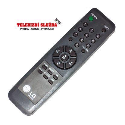 Obrázek Dálkový ovladač TV - LG 105-230D = MT1286, ZIP107