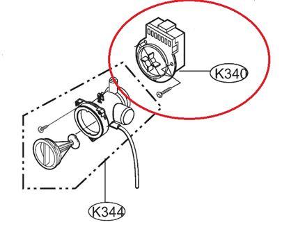Obrázek Originální motorek čerpadla 4681EN2005A pro pračku LG